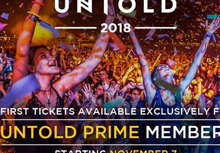 Bilete Untold 2018!