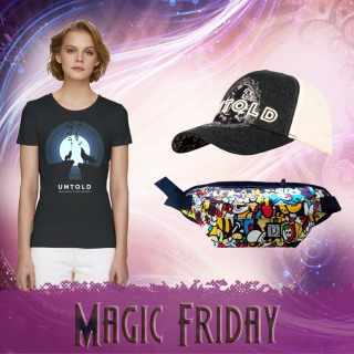 Combo t-shirt Magic Friday for her