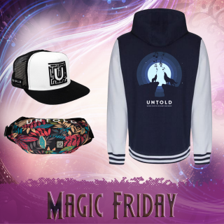 Combo hoodie Magic Friday for him