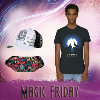 Combo t-shirt Magic Friday for him