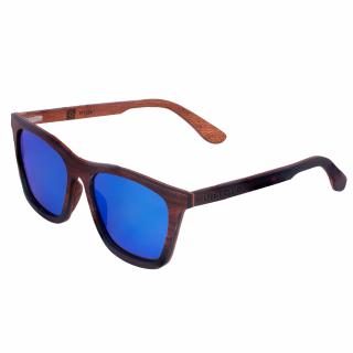 "Sunglasses made of black sandalwood, polarized ""Life Fantasy"" UNTOLD"