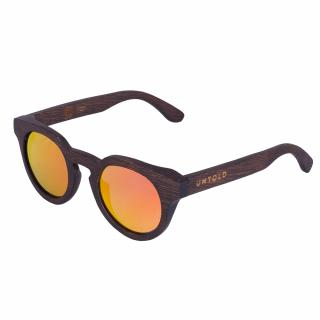 "Sunglasses made of bamboo, ""cat eye"" polarized UNTOLD"