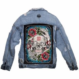 Jeans jacket - 100% cotton / denim