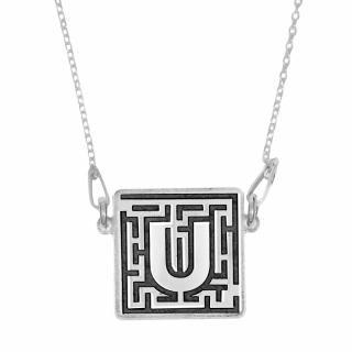 Silver necklace 925 with UNTOLD pendant