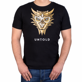 UNTOLD 2017 Gold Dragon T shirt
