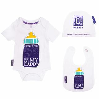 UNTOLD Daddy baby set