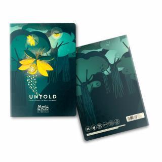 Caiet A5, 48 file, 80g/mp, dictando, colturi rotunjite, motiv The Magic of Untold