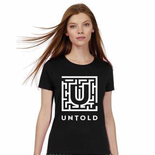 UNTOLD Classic T shirt - Black Dama