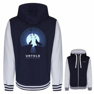 UNTOLD Singing Wolves hoodie for man