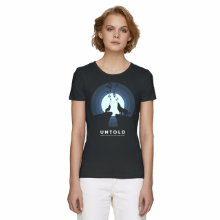 UNTOLD Singing Wolves t-shirt for woman