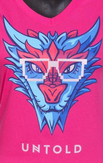 UNTOLD 2017 Blue Dragon T shirt