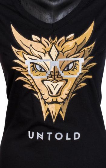 UNTOLD 2017 Gold Dragon T shirt