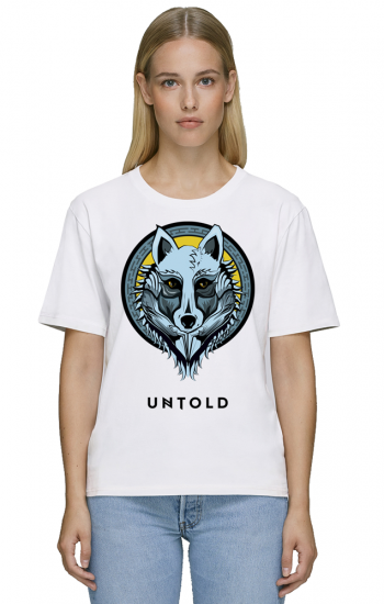 UNTOLD Wolf Tribe t-shirt for woman
